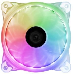 Raidmax 120MM 500-2000RPM 18-35dBA RGB LED Fan
