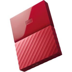 WD MyPassport 1TB 2.5 USB3.0 Red