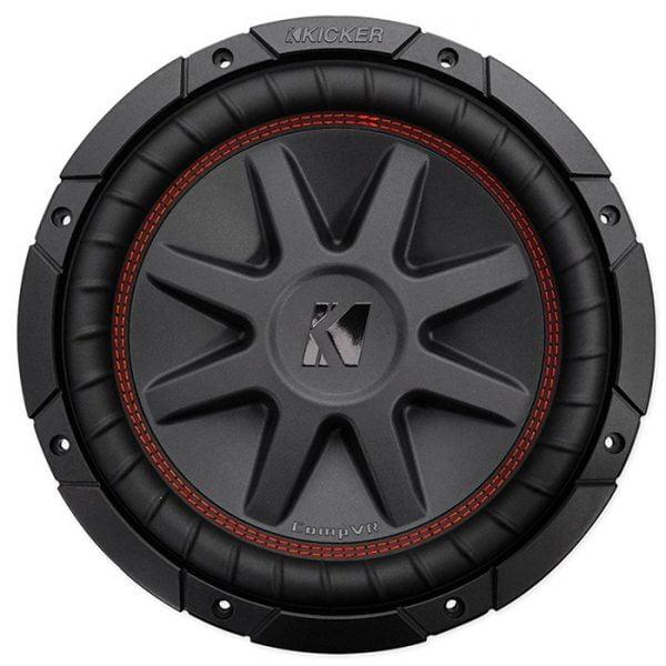 Kicker CompVR 10-Inch Subwoofer, Dual Voice Coil, 2-Ohm/4-Ohm