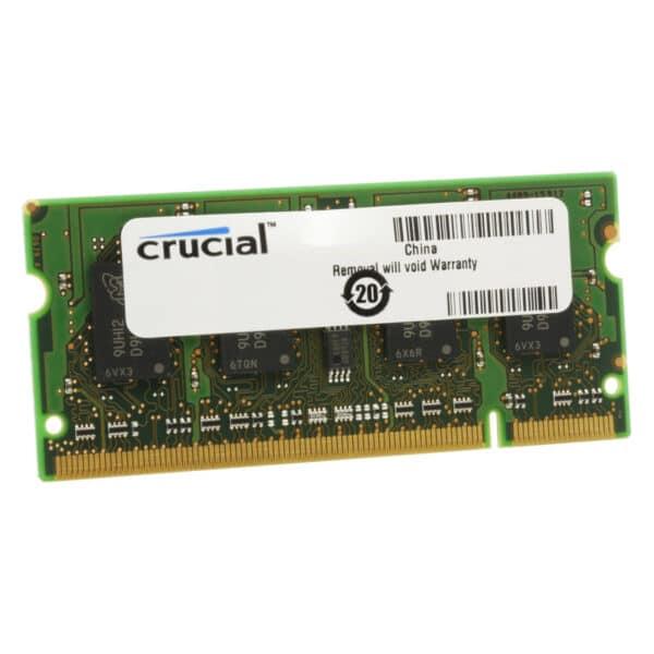 Crucial 2GB DDR3L 1600MHz SO-DIMM