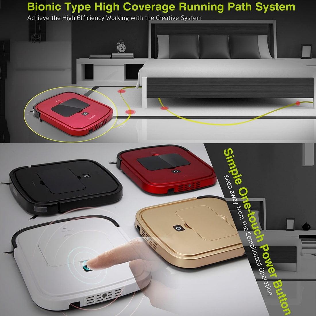 iiutec R-Cruiser Smart Vacuum Cleaner