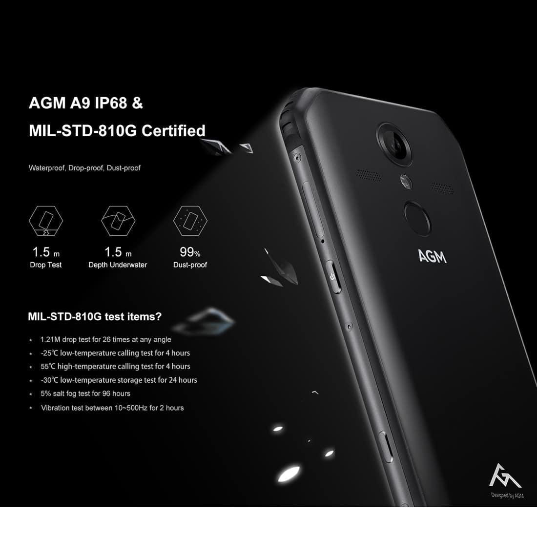AGM A9 Rugged Smartphone