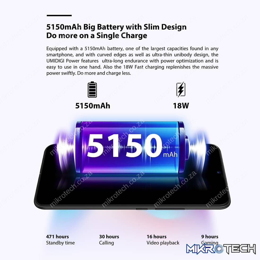 Umidigi Power Smartphone
