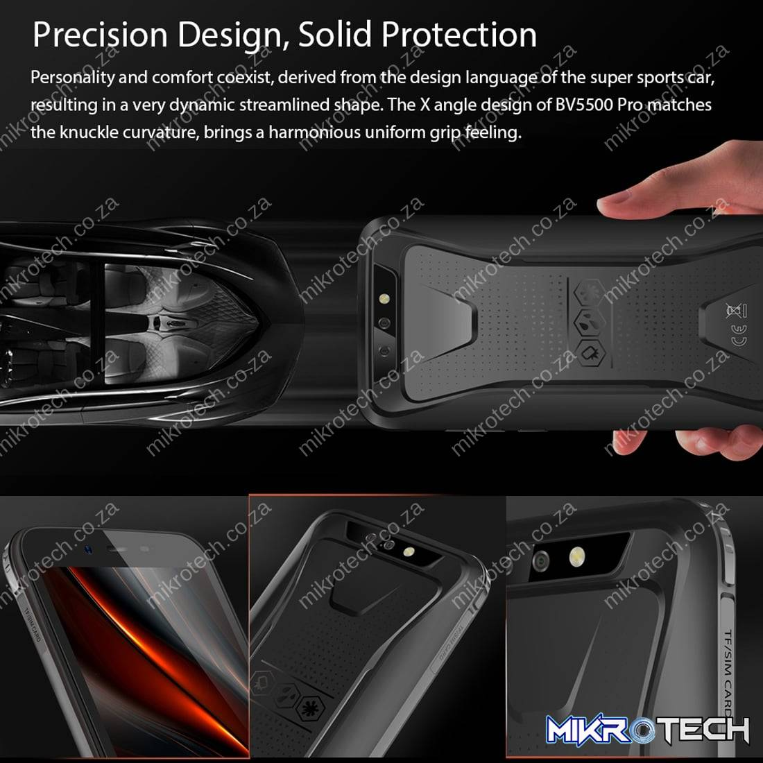 BlackView BV5500 Pro Rugged Smartphone