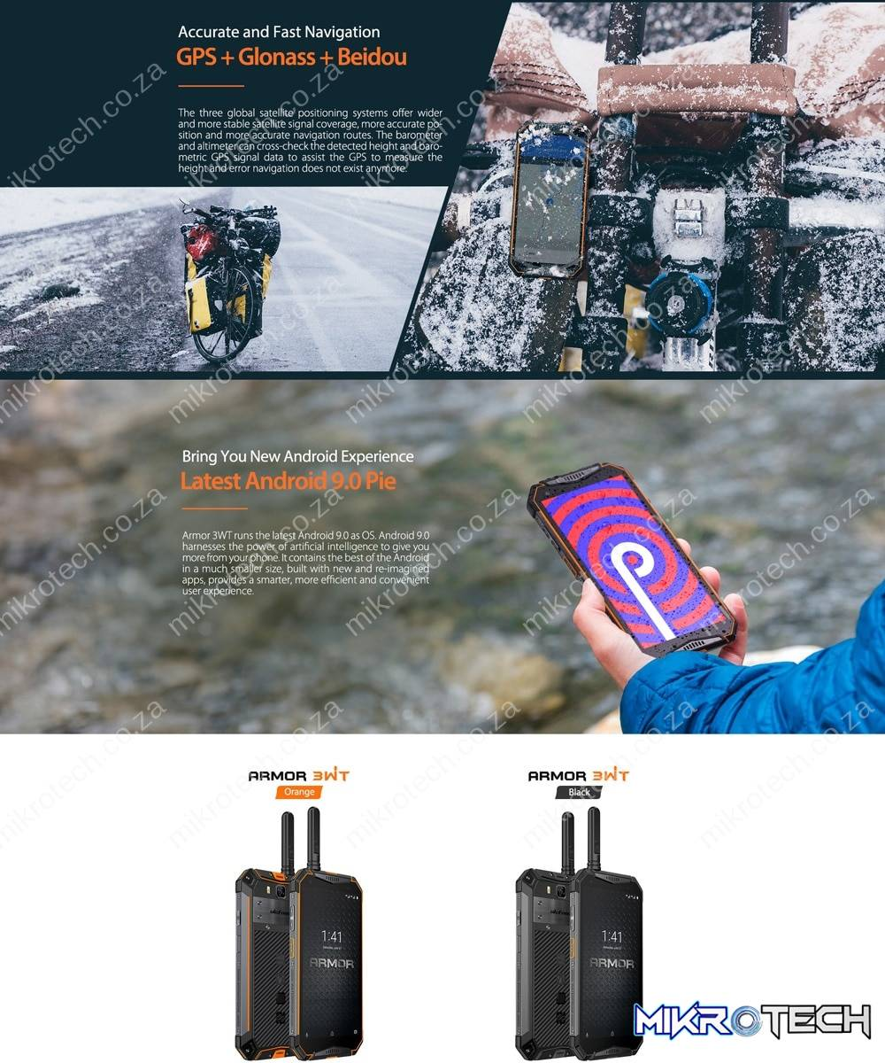 Ulefone Armor 3WT Rugged Smartphone