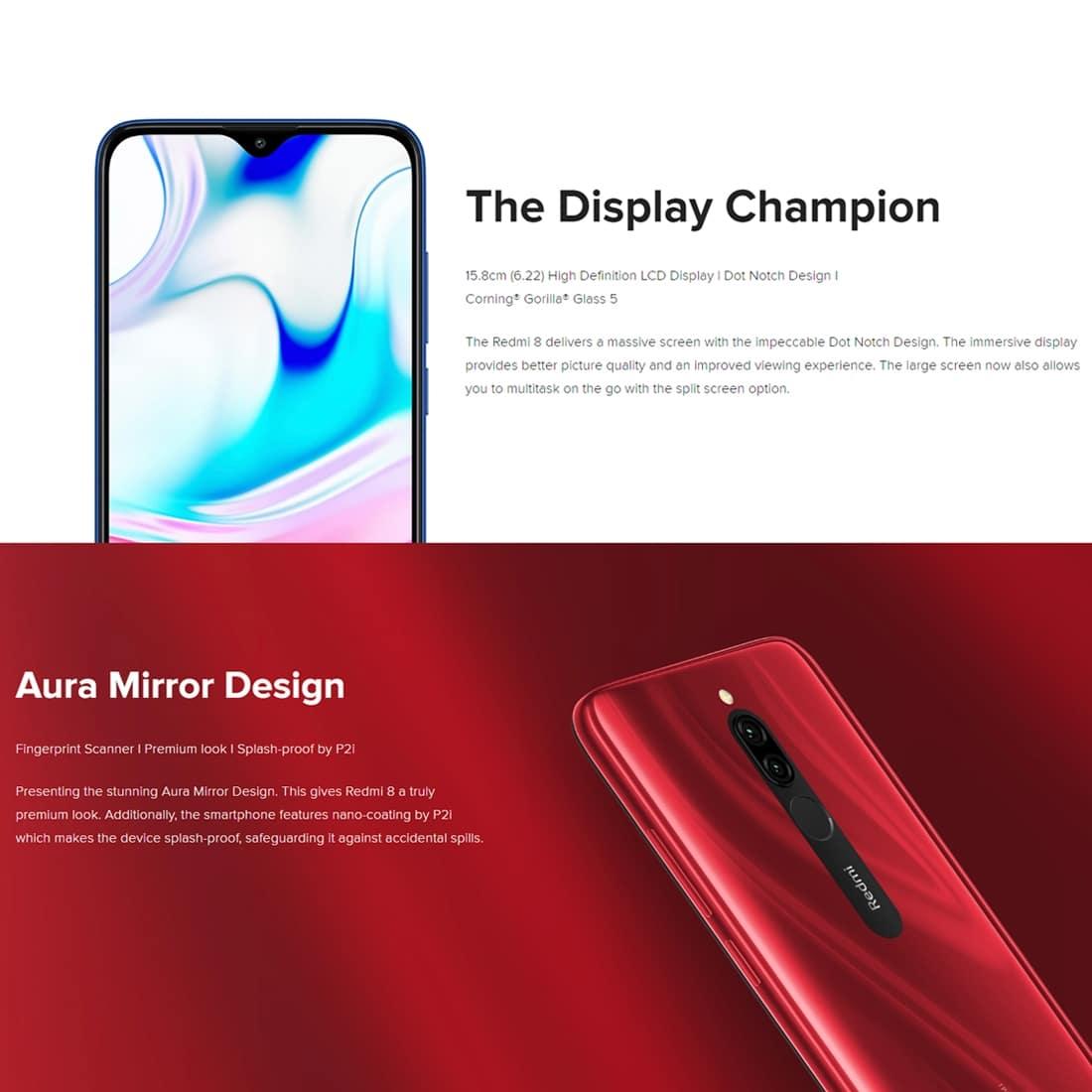 Xiaomi Redmi 8 Smartphone