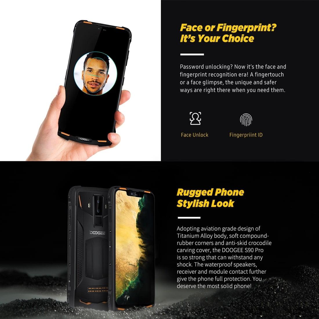 DOOGEE S90 Pro Rugged Smartphone