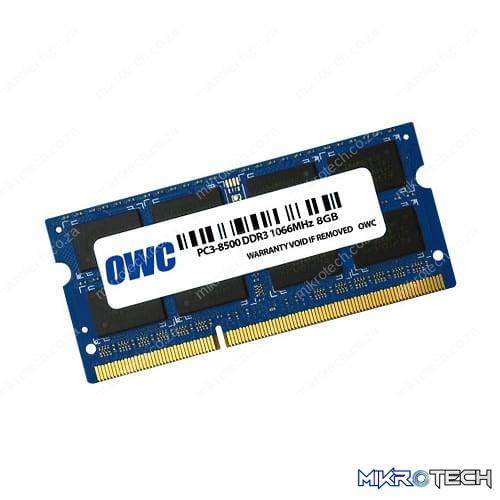OWC Mac 8GB DDR3 1066MHz SO-DIMM