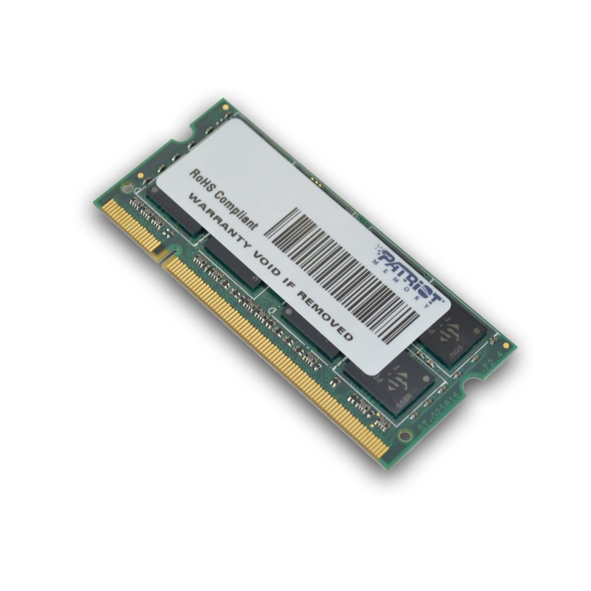 Patriot Signature Line 2GB DDR2 800MHz SO-DIMM Dual Rank
