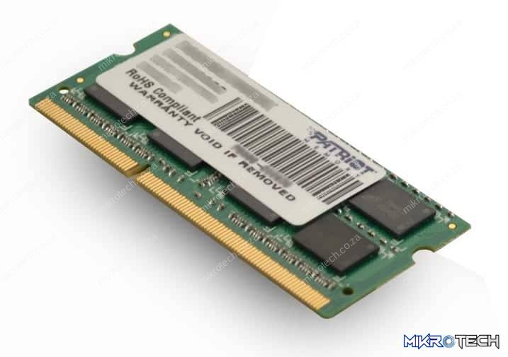 Patriot Signature Line 4GB DDR3 1600MHz SO-DIMM Dual Rank Laptop RAM