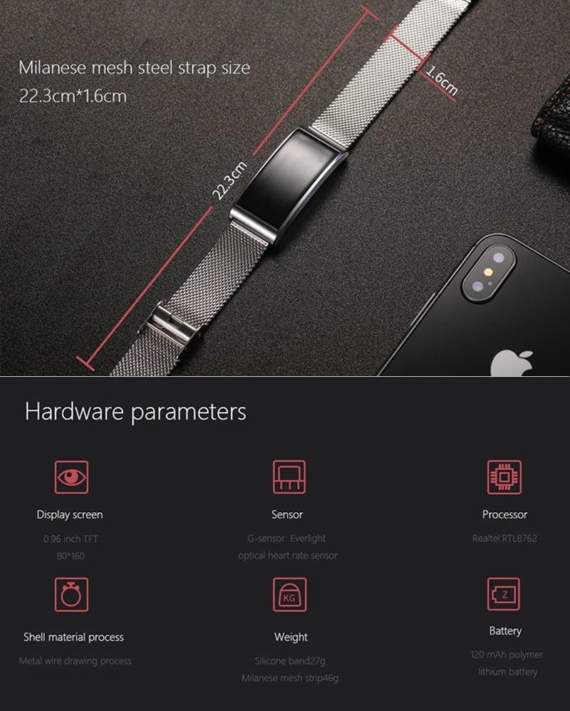 Xanes X3 0.96 Inch Smartwatch