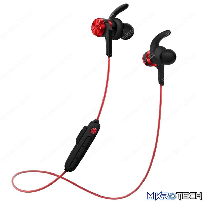 1MORE Fitness E1018BT iBFree Sport IPX6 Water Resistant BT In-Ear Headphones - Red