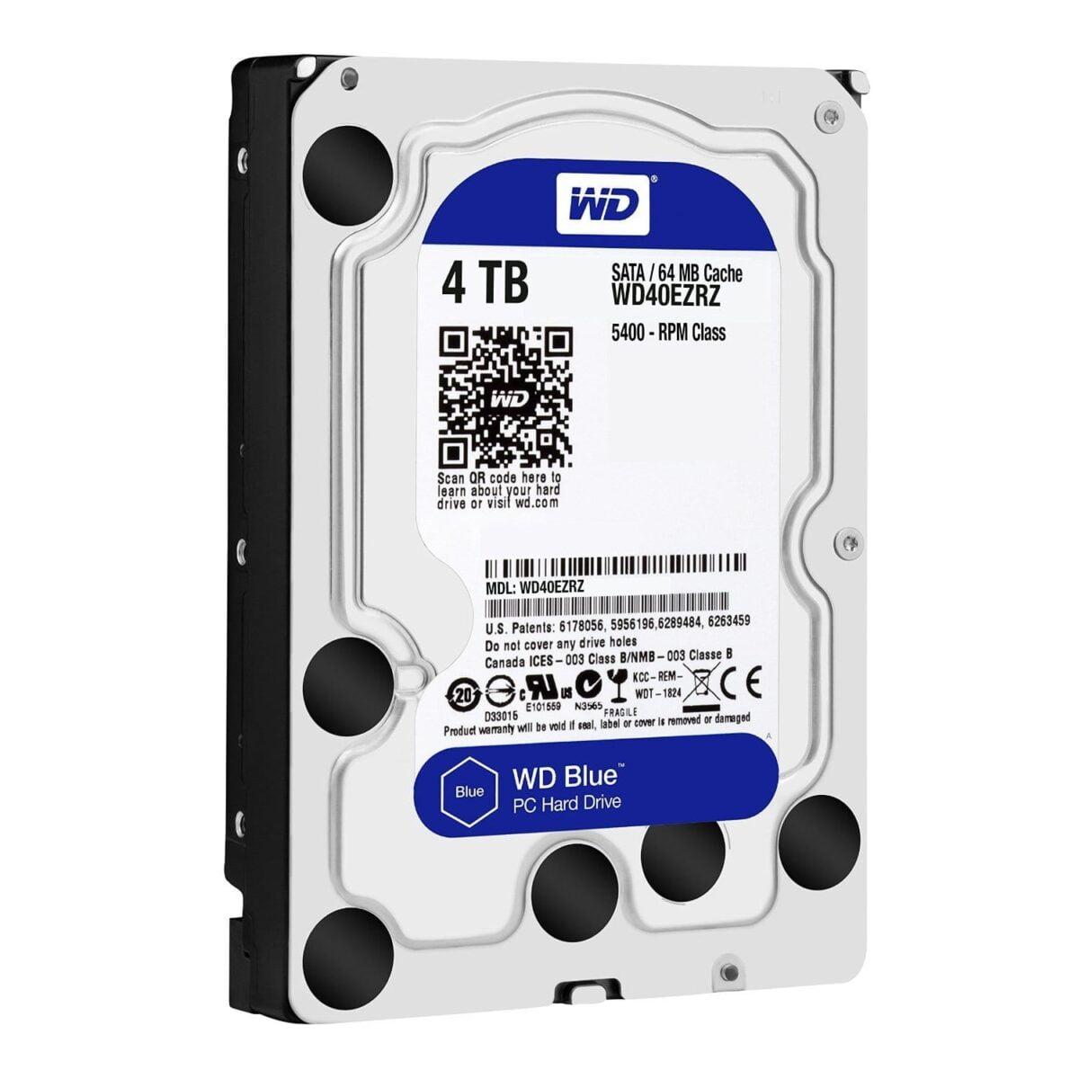 WD Blue 4TB 3.5 SATA 64MB