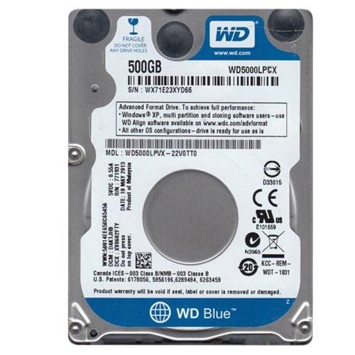 WD Blue 500GB 2.5 SATA 16MB