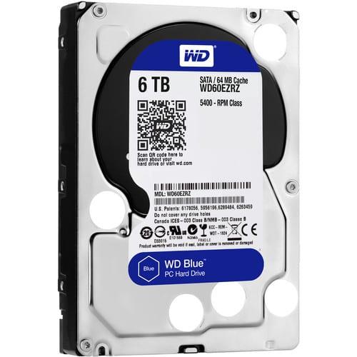 WD Blue 6TB 3.5 SATA 64MB