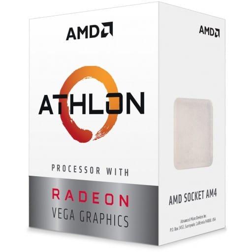 AMD Athlon 3000G Dual Core 3.5GHz Socket AM4 Desktop APU
