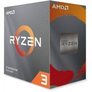 AMD Ryzen 3 3100 Quad Core 3.6GHz (3.9GHz Boost) Socket AM4 Desktop CPU