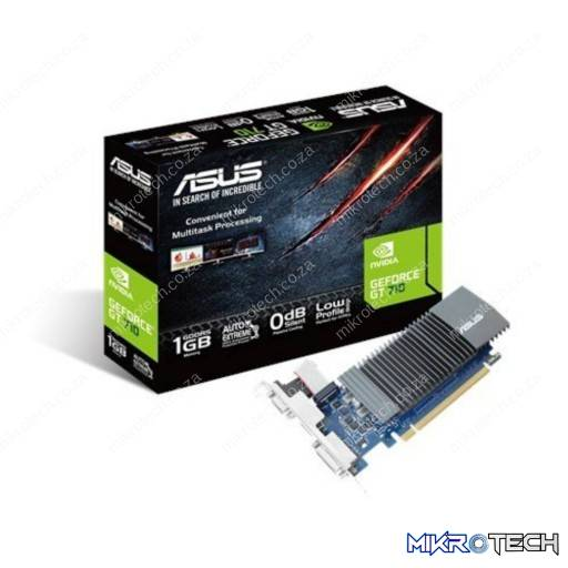 Asus GeForce GT 710 1GB GDDR5 32-Bit PCI Express 2.0 Passive Desktop Graphics Card