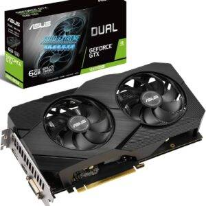 Asus GeForce GTX 1660 SUPER Dual EVO OC DUAL-GTX1660S-O6G-EVO 6GB GDDR5 192-bit PCI-E 3.0 Desktop Graphics Card