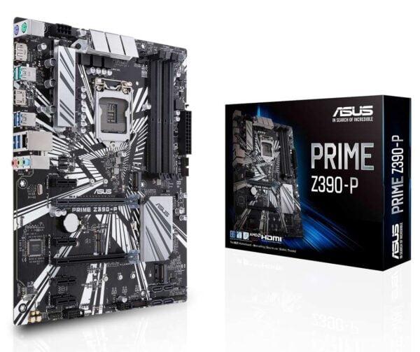 Asus Prime Z390-P Intel Z390 Coffee Lake LGA1151 ATX Desktop Motherboard