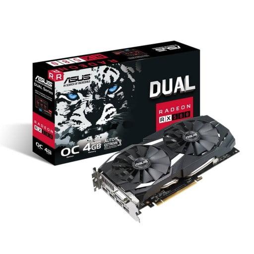 Asus RX 580 4GB GDDR5 256-bit PCIe 3.0 Desktop Graphics Card