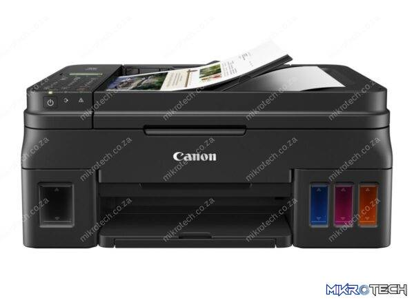 Canon G4411 Pixma Multi-Function (Print + Scan + Copy + Fax + CloudLink) Wi-Fi Colour Inkjet Printer