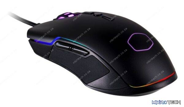 Cooler Master CM-310-KKWO2 CM310 Black Wired RGB Optical Gaming Mouse