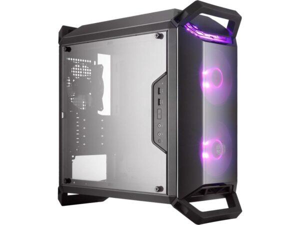 Cooler Master MCB-Q300P-KANN-S02 MasterBox Q300P Windowed Black Micro-ATX Mini-Tower Desktop Chassis
