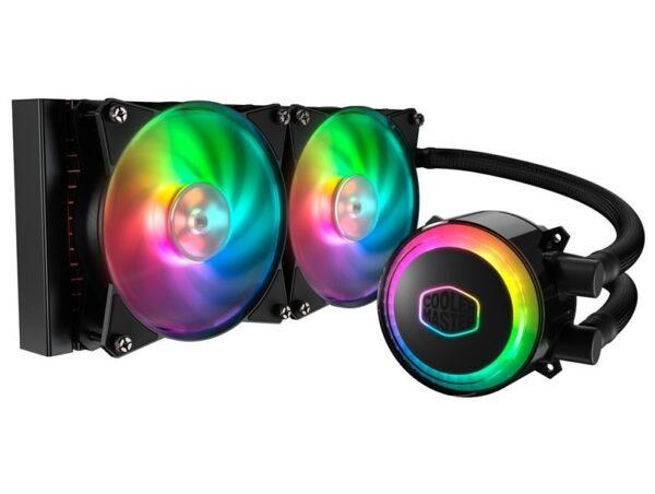 Cooler Master MLX-D24M-A20PC-R1 MasterLiquid ML240R RGB Liquid CPU Cooler