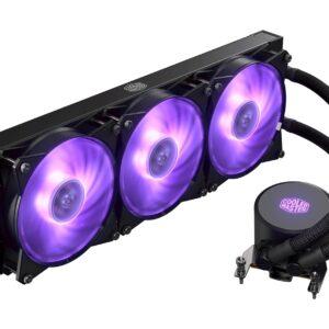 Cooler Master MLX-D36M-A20PC-T1 MasterLiquid ML360 AMD Socket TR4 RGB Liquid CPU Cooler