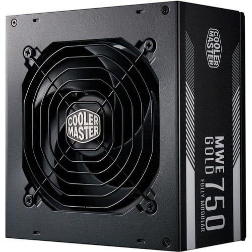 Cooler Master MPY-7501-AFAAG-WO MWE 750W 80 Plus Gold Certified Fully Modular Desktop Power Supply