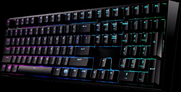 Cooler Master SGK-6020-KKCR1-US Masterkeys Pro L MX-Red Mechanical Gaming Keyboard