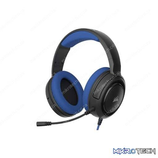 Corsair HS35 Wired Stereo Blue Gaming Headset
