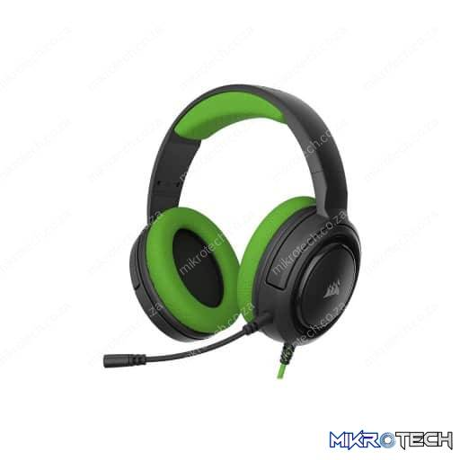 Corsair HS35 Wired Stereo Green Gaming Headset