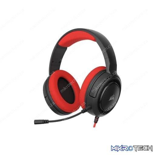 Corsair HS35 Wired Stereo Red Gaming Headset