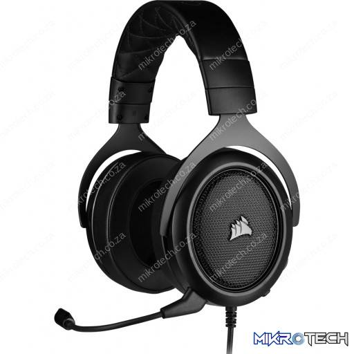 Corsair HS50 PRO WIRED Stereo Carbon Gaming Headset