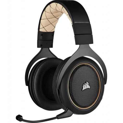 Corsair HS70 PRO Wireless Virtual 7.1 Surround Cream Gaming Headset
