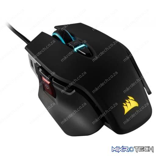 Corsair M65 RGB Elite 18,000 DPI Tunable Black Wired Optical Gaming Mouse