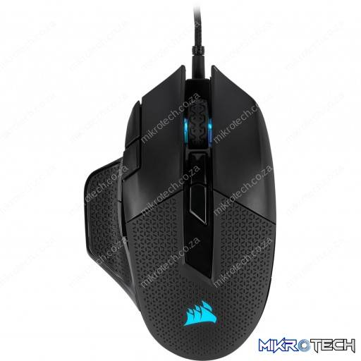 Corsair Nightsword RGB 18,000 DPI Black Wired Optical Gaming Mouse