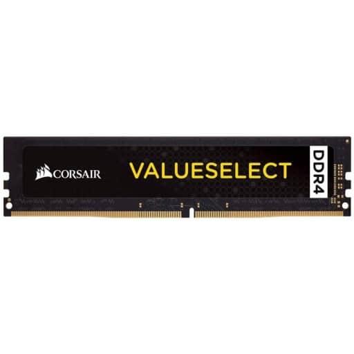 Corsair Value Select 4GB (1x4GB) DDR4-2666MHz CL18 1.2V 288-pin Desktop Memory