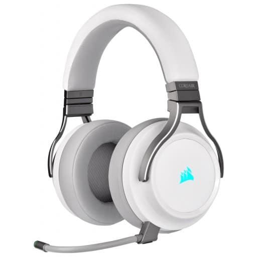 Corsair Virtuoso Wireless Virtual 7.1 RGB White Gaming Headset