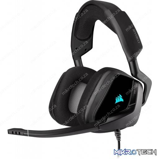 Corsair Void Elite RGB USB 7.1 Surround Sound Carbon Gaming Headset