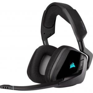 Corsair Void RGB Elite 7.1 Surround Sound Carbon Wireless Gaming Headset