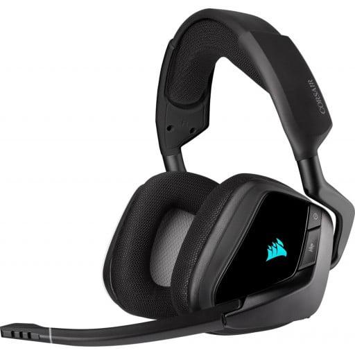 Corsair Void RGB Elite 7.1 Surround Sound Carbon Wireless Gaming Headset