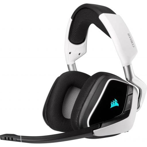 Corsair Void RGB Elite 7.1 Surround Sound White Wireless Gaming Headset