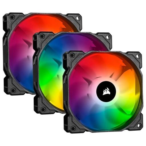 Corsair iCUE SP120 RGB Pro Performance 120mm Case Fan - Triple Pack