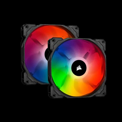 Corsair iCUE SP140 RGB Pro Performance 140mm Case Fan - Twin Pack