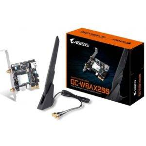 Gigabyte 802.11ax Dual Band WIFI + Bluetooth 5.0 PCI-E Adapter