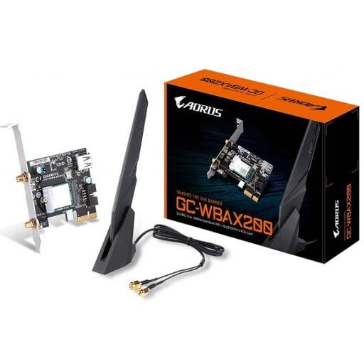 Gigabyte 802.11ax Dual Band WIFI + Bluetooth 5.0 PCI-E Adapter