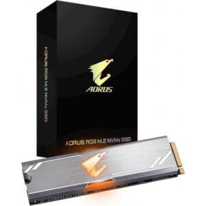 Gigabyte Aorus RGB 256GB M.2 PCIe 3.0 NVMe Solid State Drive